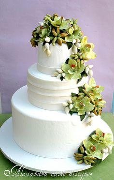 wedding cake by Alessandra Cake Designer,