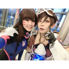 Dva and Tracer #Game #cosplay #overwatch #dva #tracer CN : Aouichan as Dva Arstiea as Tracer Check out their page : Aouichan : https://www.facebook.com/Aouichan.Cos/ Arstiea : https://www.facebook.com/RASIJES.AC/