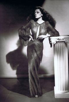 Diana Ross Photographed By George Hurrell