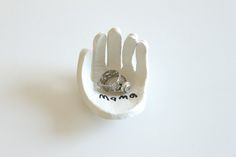 Hand-Shaped Ring Dish ‹ Mama. Papa. Bubba.Mama. Papa. Bubba.