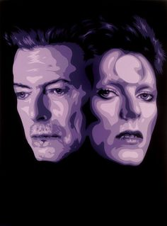 The world lost another star yesterday with the passing of David Robert Jones, also known as David Bowie. The died just two days after his birthday and the release of his latest album, Blackstar. David Bowie Music, David Bowie Starman, David Bowie Tribute, David Bowie Art, Major Tom, Art Sculpture, Ziggy Stardust, Rock Legends, Street Art