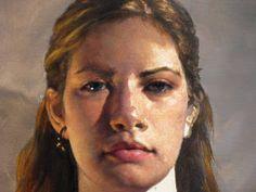 The Ryder Studio Blog: Tony's Portrait Painting Demo Sept/Oct 2010