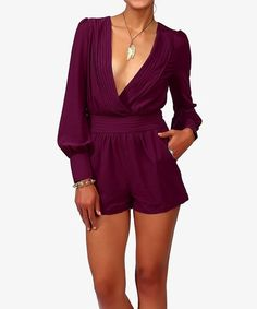 Long-sleeve purple romper  www.missibiss.com  | 1100 Lincoln Ave San Jose CA