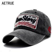 AETRUE Hombres Mujeres Gorra de béisbol del Snapback Casquette Papá Marca  Hueso sombreros Para Hombres Moda 9afef1029d6