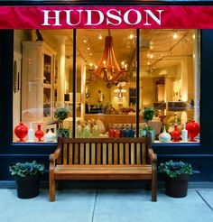 Hudson Interiors in Boston. This shop looks awesome...next time I'm in Boston, I'm heading straight there!