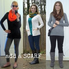 Dancing With Ashley: Winter Fashion Series-- different bloggers sent in comfortable winter clothes ideas