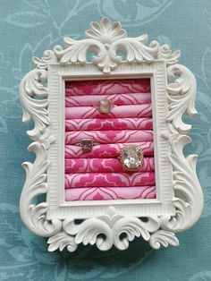 Princess Small  Ring Organizer ... DIY decor inspiration,  ring storage / display