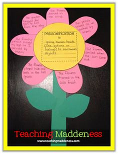 Putting Pizzazz into Poetic Devices! {Win This New Unit} - *Teaching Maddeness*