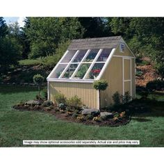 Handy Home Products Phoenix 10 ft. x 8 ft. Solar Shed with Floor Kit-18160-3 at The Home Depot