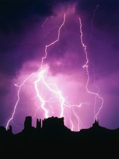 Lightning over monument valley photographic print by craig aurness lightning we track lightning all over the world even places where theres no Lightning Photography, Nature Photography Tips, Ocean Photography, Purple Lightning, Thunder And Lightning, Lightning Storms, Lightning Strikes, Lightning Images, Lightning Bolt