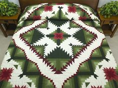 Jackie Robinson Eureka Quilt | Eureka Quilt -- wonderful meticulously made Amish Quilts from ...