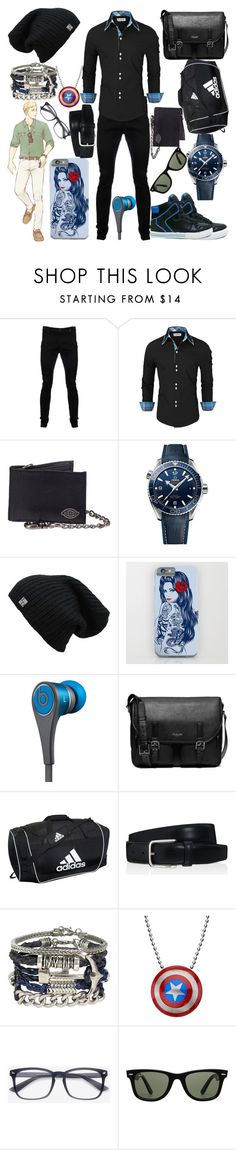 """Erwin Smith"" by vampirekitty34 ❤ liked on Polyvore featuring Vivienne Westwood Anglomania, OMEGA, Beats by Dr. Dre, Michael Kors, adidas, Tod's, ALDO, Ray-Ban, men's fashion and menswear"