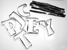 Make your own cookie cutters from soda cans.