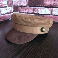 Vintage color block baker boy cap for women studded newsboy hats Baker Boy Cap, News Boy Hat, Caps For Women, Vintage Colors, Studs, Lady, Winter, Womens Fashion