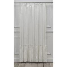 Cynthia Rowley Luxurious Beauty Ruffled Fabric Shower