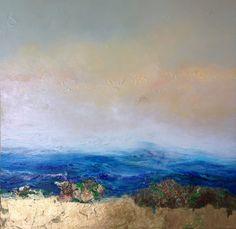 "Georgeana Ireland ""Day Dream"" 40x40 oil on canvas"