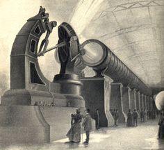 Nikola Tesla Coil Steampunk Electrical Stage Show
