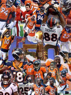 Go Denver Broncos Champs! Denver Broncos Memes, Denver Broncos Pictures, Denver Broncos Super Bowl, Denver Broncos Football, Go Broncos, Nfl Denver Broncos, Broncos Fans, Football Baby, Pro Football Teams