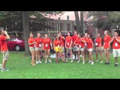 Orientation Assistants give first-years an attitude check on Move-In Day.