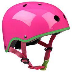 Micro Helmet Helmet Neon Pink
