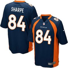 412e08217 (Elite Nike Youth Wesley Woodyard Navy Blue C Patch Jersey) Denver Broncos  Alternate NFL Easy Returns.