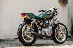 Blank Check: Bill Becker builds the ultimate custom Yamaha XS 650.