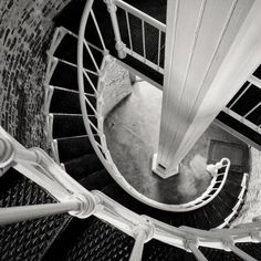 Stairs, Lighthouse II Big Sur 2013 by Cara Weston