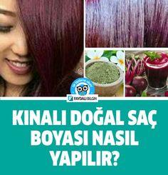 Kınalı doğal saç boyası nasıl yapılır? #saç #bakım #güzellik #saçlar #doğal #boya #kadın #kına #nasıl #yapılır #faydalı #bilgi #video