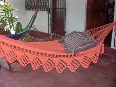One Color Single Hammock handwoven Natural Cotton by hamanica