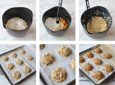 Havergrynsfrallor utan vetemjöl - Lindas Bakskola & Matskola Bread Baking, Cereal, Breakfast, Food, Blogg, Baking, Morning Coffee, Essen, Meals
