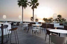 Chaise de bar restaurant Sabinas Vondom - Sledge