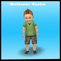 ♢The Sims Freeplay.                                       My infant sim grew up to a toddler! Happy Sim Birthday!                                        #Babyboy #Mohawk #BabyCastro #SimsFreePlay