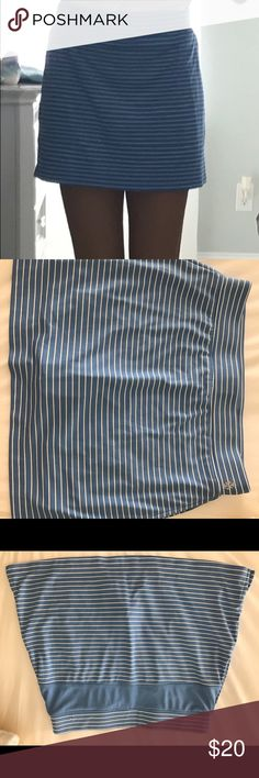 IZOD Golf Striped Knit Pull-On Skort Perfect for a day on the course! Worn once. Izod Skirts Mini