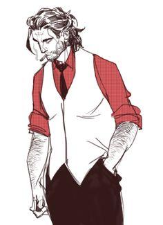 the wolf among us Fantasy Character Design, Character Design Inspiration, Character Art, Dnd Characters, Fantasy Characters, Fables Comic, Neko, The Wolf Among Us, Superhero Stories