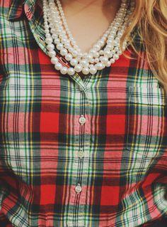"""preciousasapeony: """"Flannel Check """""""
