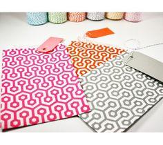 Papieren zakjes 5 stuks Medium | Honingraat | ♥ Paper love | Dreamkey Design