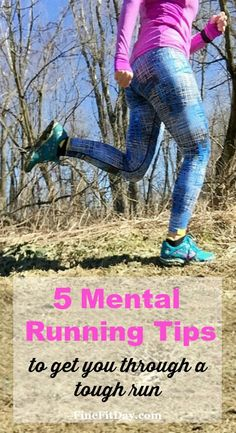 Whether you're struggling in a race, or on your long run, these 5 mental running tips might be just what you need to push yourself through.