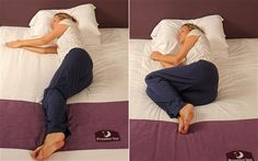 What does your sleeping position say about you?