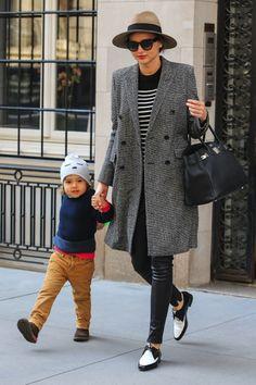 pantalon cuir Beaux Vêtements, Pantalon Cuir, Chaussure, Robe, Manteau  Gris, Mode d2679f47453
