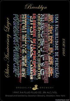 Brooklyn Silver Anniversary Lager (A Fallability of Perception by Joe Amrhein)