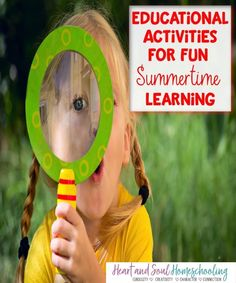 Try these fun, relaxed learning activities for summertime learning. Educational Activities for Summer Learning #homeschool #homeschooling Educational Activities, Learning Activities, Kids Learning, Preschool Kindergarten, Toddler Preschool, Mental Math Tricks, Summer Activities For Kids, Summer Science, Stem Science