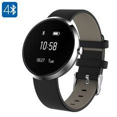 Ordro S10 Smart Sport Bracelet - Calorie Counter, Blood Pressure, Heart Rate, Sleep Monitor, Pedometer, Bluetooth (Silver) - The Ordo S10 Smart Sport Bracelet offers an abundance of health and fitness features such as a heart rate monitor, pedometer, and calorie counter.