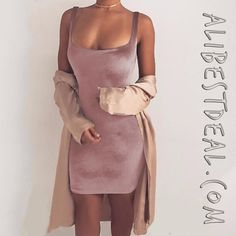 How much would you like to pay for this dress? Now it's only 3.99$ on our website! ❤️💛💙 #satindress #sexydress #wrapdress #satin #wrapdress #mediumdress #mididress #pinkdress #fancydress #classylook #modafemenina #seguidores #aliexpress #chinashopping #alibestdeal