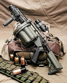 40Mm Grenade Launcher | Milkor SuperSix MGL 40mm Multi-Shot Grenade Launcher