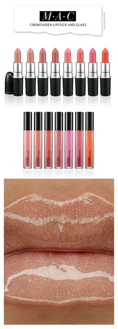 M·A·C Cremesheen Lipstick and Glass | The House of Beccaria~