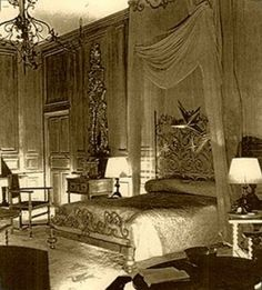 Chanel bedroom Villa Pausa