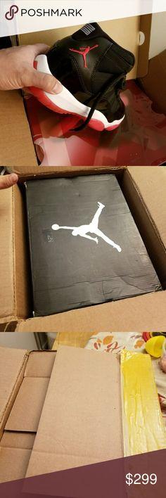 Air jordan 11 bred 2012  clean sz 9.5 W box. Clean. Used. 8.9/10. Tiny creaze on heel. Shoes Sneakers
