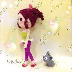 小娇 ~ 喜欢她婀娜多姿的身材  Like her body shape ~  #amigurumi #crochet #häkeln #handmade #handcraft