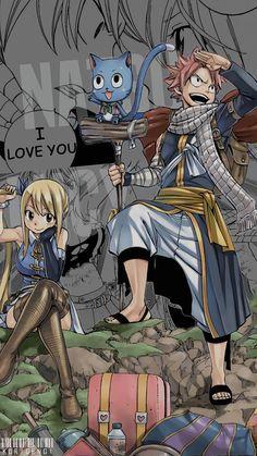 Natsu x Lucy ~ Korigengi | Wallpaper Anime