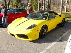Entonces vimos una característica habitual en este show: este Ferrari F430 Scuderia 16M Spider.  Fue construido para conmemorar 16 campeonatos de constructores de Ferrari en la Fórmula 1.